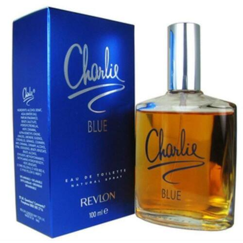 CHARLIE BLUE by REVLON Perfume 3.4 oz 3.3 edt New in Box