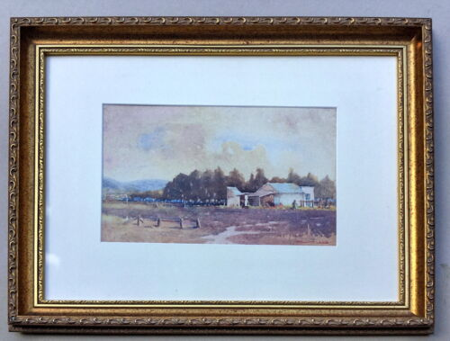 Charles Hill  Gosford  painting
