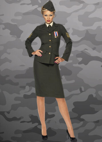 Ladies Wartime Army Officer Costume