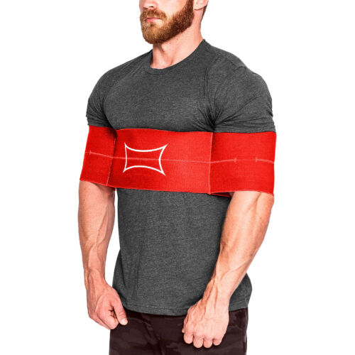 Sling Shot Original Level 2 Elastic Weight Lifting Training Support - Red