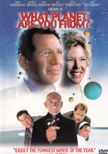 WHAT PLANET ARE YOU FROM? Garry Shandling DVD R1