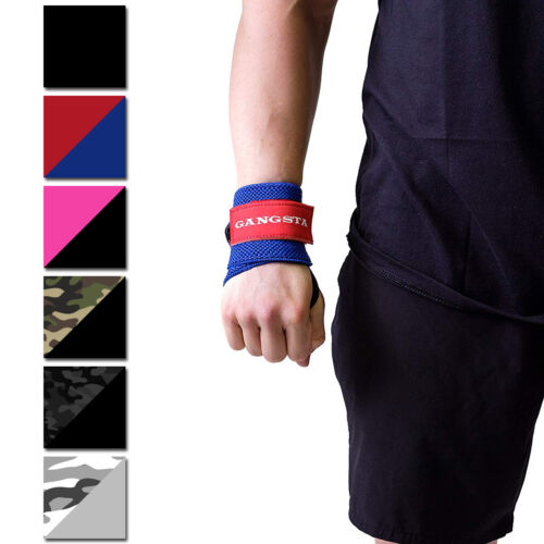 Sling Shot Gangsta Wrist Wraps by Mark Bell, IPF approved weight lifting support <br/> Exclusive Seller of Sling Shot on eBay