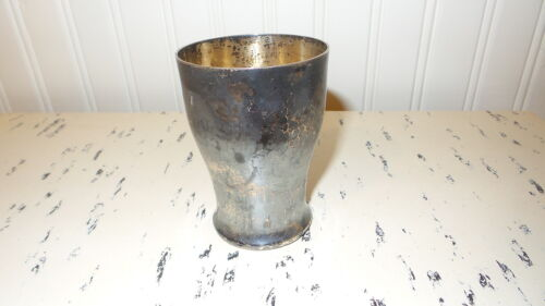 "Antique SILVER CUP Textured, 3-1/2"", JK 0.800"