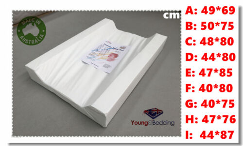 Australia Made Baby Change/Changing Pad/Mat in Full Size Range <br/> Waterproof Hospital Grade Vinyl + opt Thick Terry Cover
