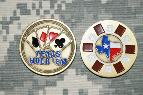 LIMITED ED Pulp Fiction BAMF Texas Hold/'em Poker WSOP Card Guard Challenge Coin