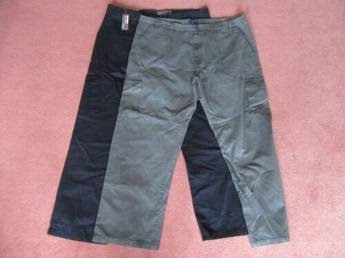 Ed Baxter Combat Cargo Trousers Waist 44 to 52 L 29 31 33