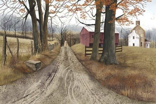 Billy Jacobs The Road Home Country Farm Print 18 x 12