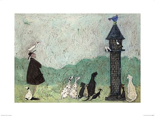 DOG ART PRINT An Audience with Sweetheart Sam Toft