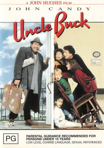 Uncle Buck - Comedy / Adventure / Family - John Candy - NEW DVD