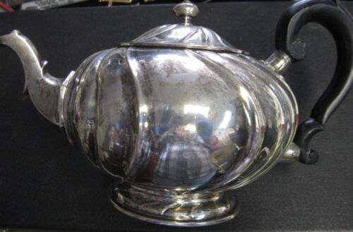 Humbert and Sohn Antique Teapot 800 Fine Silver - Approx Mid 1800s