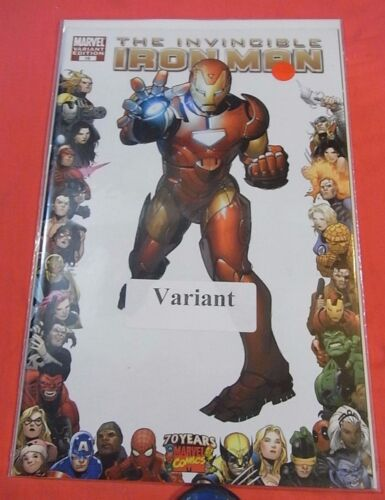 The Invincible IRON MAN #16 - 1/10 Variant - bagged 2008