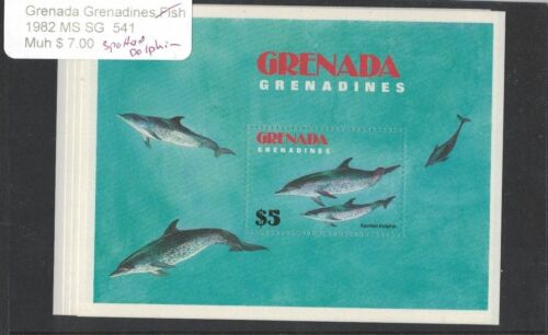 Grenada Grenadines 1982 MS SG 541 MNH - Spotted Dolphin