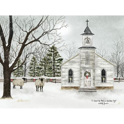 Billy Jacobs I heard the Bells on Christmas Day Art Print  24 x 18