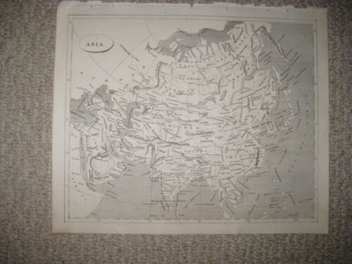 MINT ANTIQUE 1805 ASIA ARROWSMITH & LEWIS COPPERPLATE MAP ARABIA CHINA JAPAN NR