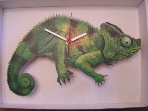 CHAMELEON WALL CLOCK. NEW AND BOXED.