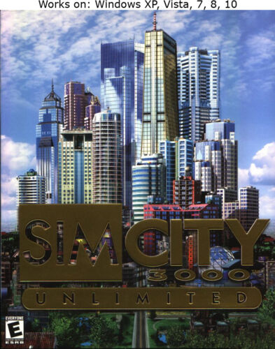 SimCity 3000 Unlimited PC Win XP Vista 7 8 10 More Games in Store Sim City