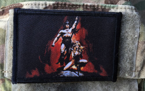Conan The Barbarian Movie Morale Patch  Tactical Military Army Badge Hook FlagArmy - 48824