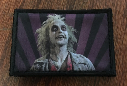 BeetleJuice Morale Patch Tactical Military Army Badge Flag Badge USA Army - 48824
