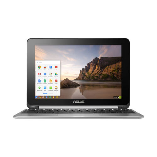 "Asus Flip 2-in-1 10.1"" Touchscreen Chromebook Rockchip 1.8GHz Quad-Core 2GB 16GB"