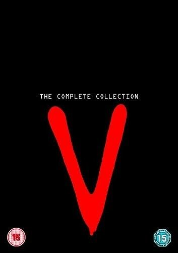 V THE COMPLETE COLLECTION ORIGINAL SERIES 8 DISCS NEW/SEALED R4 1983-1985
