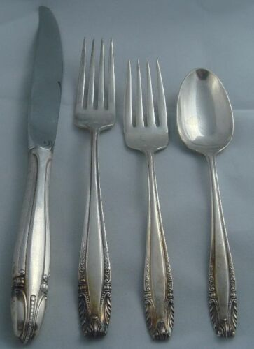 Wallace Stradivari Sterling Silver Four ( 4 ) Piece Setting