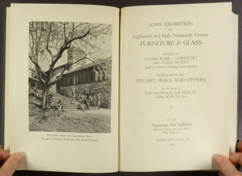 1929 Girl Scout Loan Exhibition of Antique American Furniture and Antiques