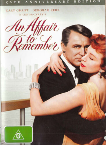 AN AFFAIR TO REMEMBER Cary Grant DVD R4 - PAL