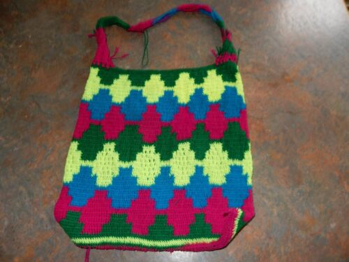 Papua New Guinea Colourful Billum Made In THe Highlands Of PNG For Child