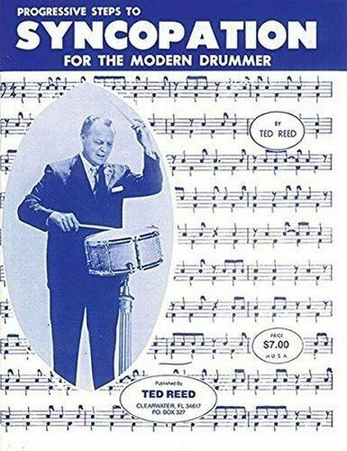 NEW Syncopation for the Modern Drummer By Ted Reed Paperback Free Shipping