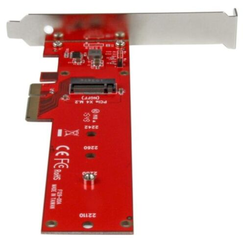 STARTECH X4 PCI EXPRESS TO M.2 PCIE SSD ADAPTER PEX4M2E1