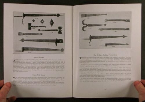 Book: 1919 Wallace Nutting Iron Hardware & Lighting and Fireplace Trade Catalog