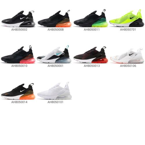 Nike Air Max 270 Men Running Athletic Shoes Sneaker Trainers 2018 Pick 1