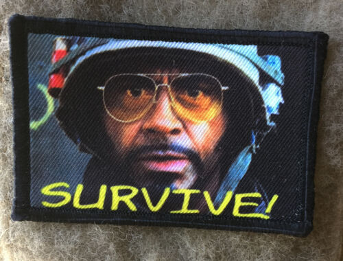 Survive! Tropic Thunder Movie Morale Patch Funny Tactical Military USA Hook ArmyArmy - 48824