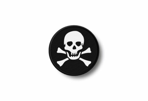 Flag patch printed badge country pirate jack rackham ref2