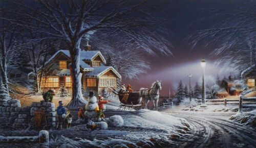 Winter Wonderland By Terry Redlin Holiday Edition Numbered Art Print