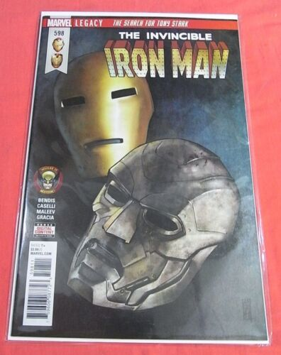 IRON MAN #598 - Search for Tony Stark - Bagged & Boarded ..!!