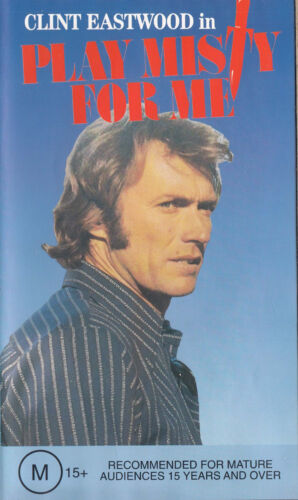 PLAY MISTY FOR ME Clint Eastwood Video VHS Pal    SirH70