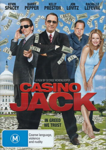 Casino Jack - Thriller / Violence / Nudity / Comedy - Kevin Spacey - NEW DVD