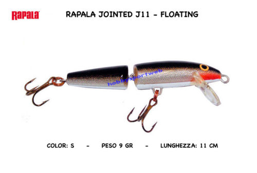 RAPALA JOINTED  J-11 S FLOATING
