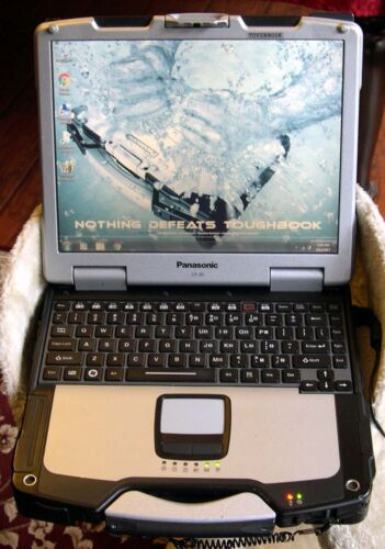 Panasonic Toughbook CF-30 MILITARY GRADE 320Gb HDD READY TO USE LAPTOP