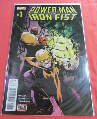 POWER MAN and IRON FIST #1 - (2016) bagged & boarded