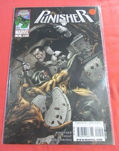 PUNISHER #9 (2009 Series) - Never Read Issues