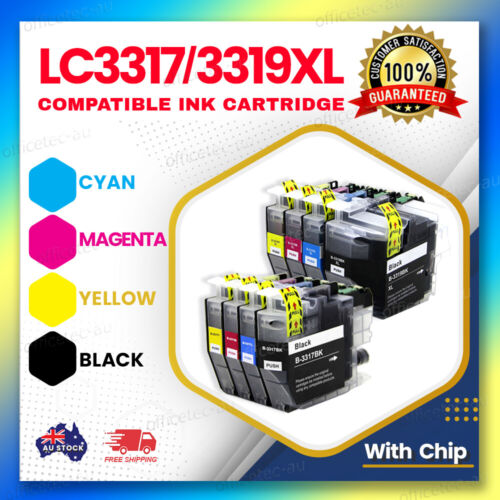 ANY LC3317, LC3319XL Ink Cartridges Compatible for Brother MFCJ5330DW MFCJ6730DW