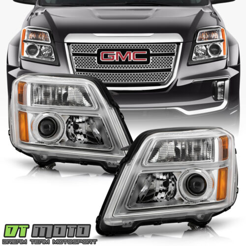 2010-2015 GMC Terrain Headlights [Factory Style] Headlamps 10-15 Pair Left+Right <br/> Limited Life Time Warranty,free return,SAE DOT approved
