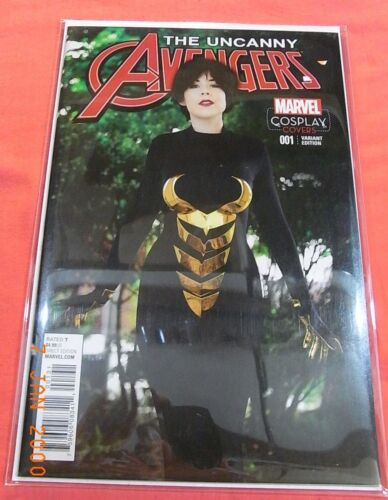 The Uncanny AVENGERS #001 - Cosplay variant cover  (2015)