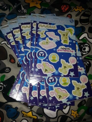 10 RARE CODES ONLY!!! from sheets of Neopets Harris JUMBO stickers NO SHIPPING