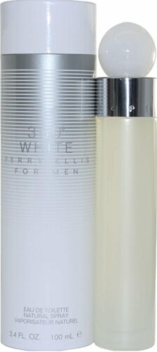 360 White by Perry Ellis 3.4 oz edt 3.3 Spray for Men New in BOX