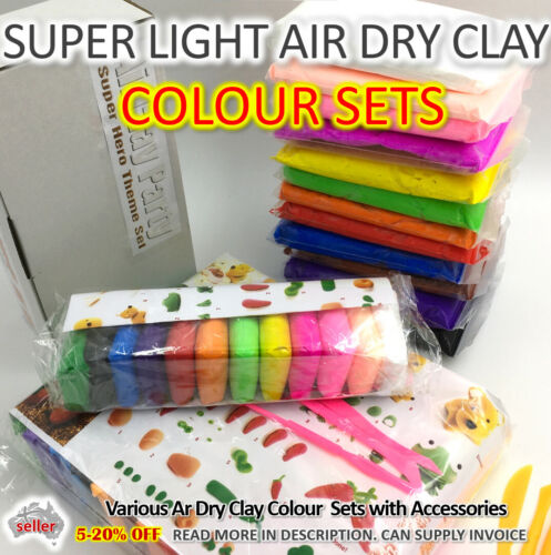 Air Dry Clay, DIY Craft Gift, Soft Clay Super Light Modeling Clay Large Refill