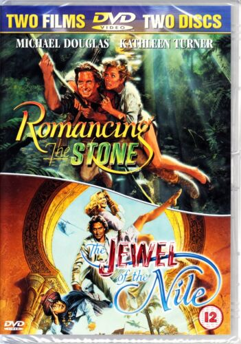 ROMANCING THE STONE / JEWEL OF THE NILE DVD  2 DISCS REGION 4  MICHAEL DOUGLAS