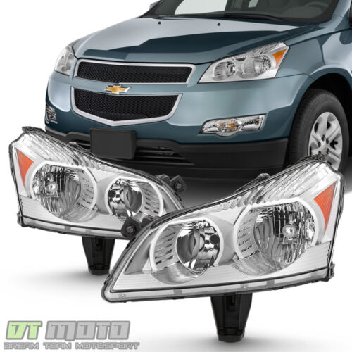 2009 2010 2011 2012 Chevy Traverse LS & LT Model Headlights Headlamps Left+Right <br/> Compatible LS/LT Models Only,Lowest Price,FREEshipping